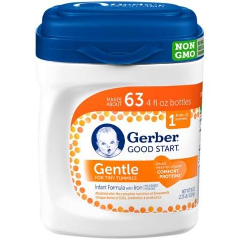 Gerber Good Start Gentle Powder Infant Formula, Stage 1 (36 oz.)