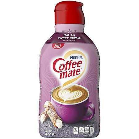 Coffee-mate Italian Sweet Creme Liquid Coffee Creamer (64 fl. oz.)