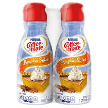 Nestle Coffee-mate Liquid Creamer, Pumpkin Spice (64 oz., 2 pk.)