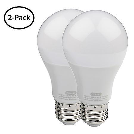 Genie Universal Garage Door Opener LED Light Bulbs (2 Pk.)