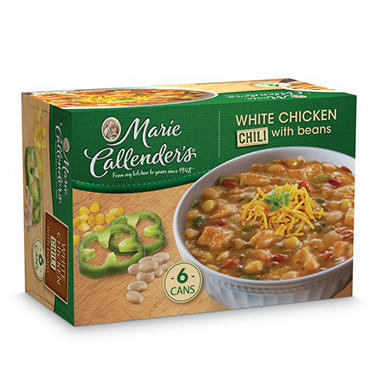 White Chicken Chili With Beans - 15 oz. - 6 pk.