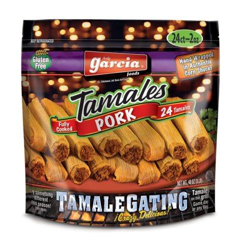 Garcia Foods Pork Tamales (3 lbs.)