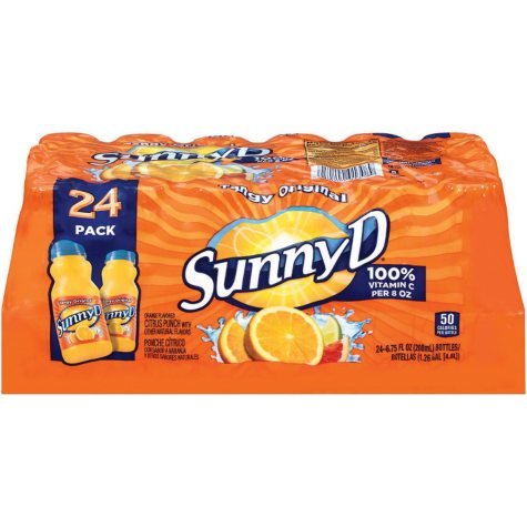 SunnyD Tangy Original Orange Flavored Citrus Punch (6.75 oz., 24 pk.)