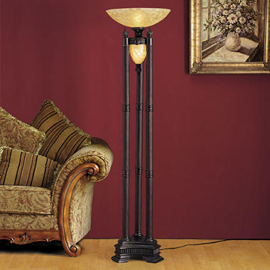 Milan Torchiere Lamp with Nightlight - Sam\'s Club