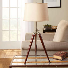 Survey Tripod Table Lamp