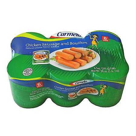 Carmela Chicken Sausage (5 oz., 6 pk.)