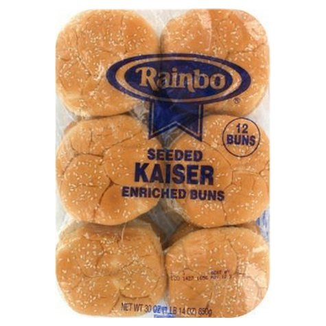 Rainbo Enriched Buns, Institutional Pack (4.5 in., 12 ct.)