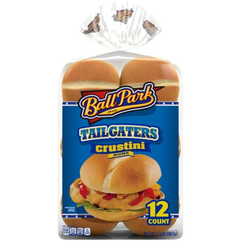 Ball Park Tailgaters Crustini Buns (12 ct.)