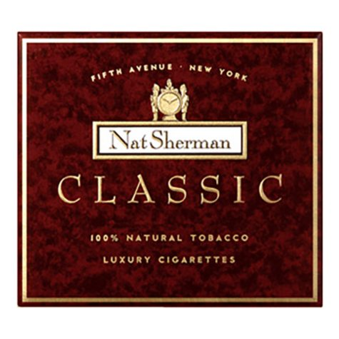 Nat Sherman Classic Cube Cigarettes (100 ct.)