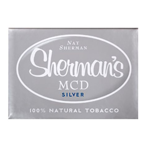 Nat Sherman  MCD  Silver 1 Carton