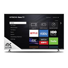 "Hitachi 50"" Class 4K UHD Roku Smart LED TV - 50R8"