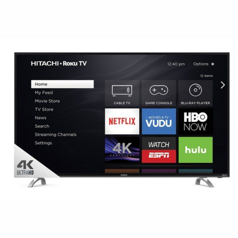 "Hitachi 49"" Class  4K UHD HDR TV with Roku TV - 49R80 Series"