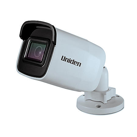 Uniden All-In-One Outdoor Bullet Camera, DVR-Less Recording, 1080p resolution, 100' Night Vision, Weatherproof, Power with PoE or with included 12V adapter & 100' Ethernet cable
