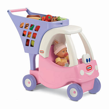 Princess Cozy Coupe Shopping Cart