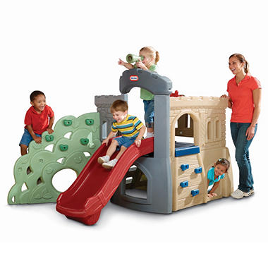 Endless Adventures® Rock Climber & Slide