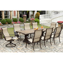 Agio Panorama 9pc. Sling Dining Set