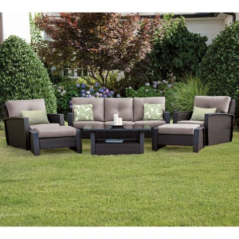 Agio Brooklyn 6pc Deep Seating Set