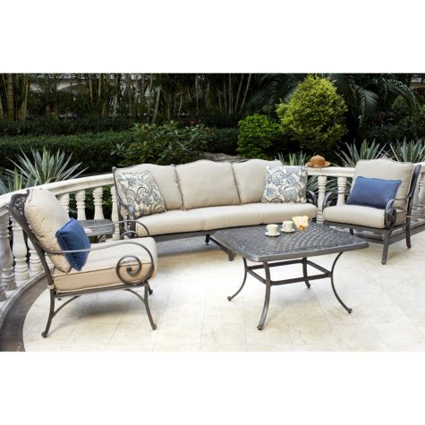 Agio Rochester 5pc Deep Seating Set