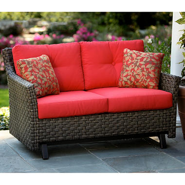 Beautiful Metro Loveseat Glider