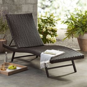 Member S Mark Agio Heritage Chaise Lounge Chair Sam S Club