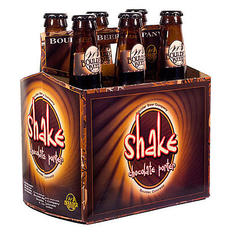 Boulder Shake Chocolate Porter (12 fl. oz. bottle, 6 pk.)