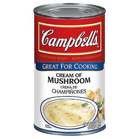 Campbell's Cream of Mushroom Condensed Soup (50 oz.)
