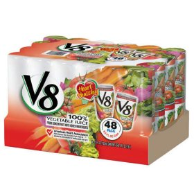 V8 100% Vegetable Juice - 48/5.5oz cans