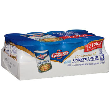 Swanson Chicken Broth (14 oz., 12 ct.)