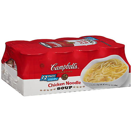 Campbell's Condensed Chicken Noodle Soup (10.75 oz., 12 ct.)