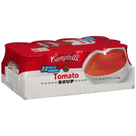 Campbell's Condensed Tomato Soup (10.75 oz. can, 12 ct.)