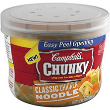 Campbell's Chunky Classic Chicken Noodle Soup (15.25 oz., 8 ct.)