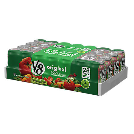 V8 Original Vegetable Juice Cans (11.5oz / 28pk)