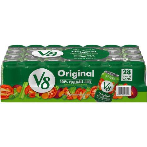 V8 Original Vegetable Juice Cans (11.5 oz., 28 ct.)