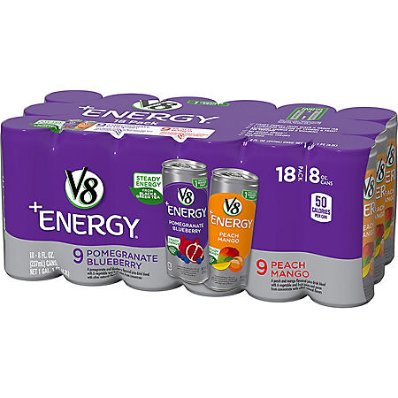 V8 +Energy Variety Pack (8oz / 18pk)