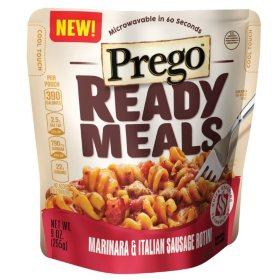 Prego Ready Meals Marinara & Italian Sausage Rotini (9 oz. 6 ct.)