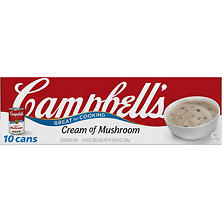 Campbell's Condensed Cream of Mushroom Soup (10.5 oz., 10 pk.)