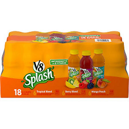 V8 Splash Variety Pack (12 oz., 18 pk.)