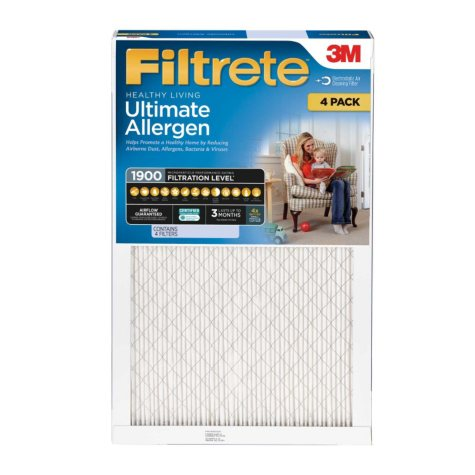 Filtrete Ultimate Allergen Reduction Filter (4 Pk., Various Sizes)