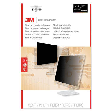 3M Blackout Frameless Privacy Filter for 20.1