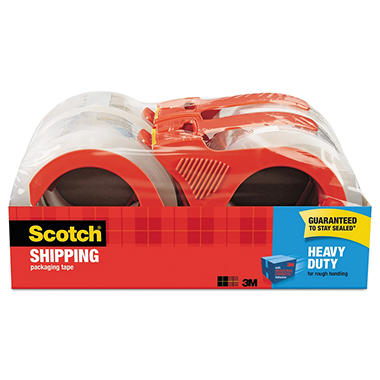 Scotch - 3850 Heavy-Duty Packaging Tape, 1.88