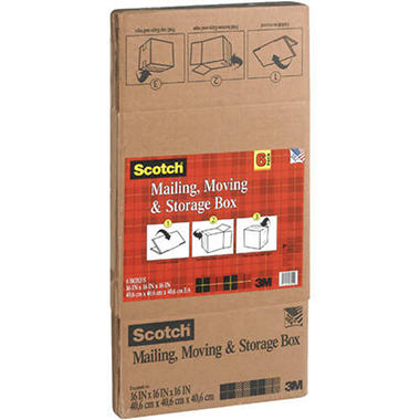 Scotch® Mailing, Moving & Storage Boxes - 6ct