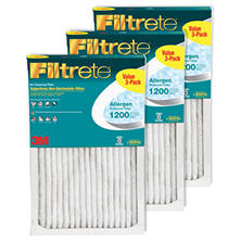 Filtrete Allergen Reduction 3 Pack Filters - 16 in x 20 in x 1 in