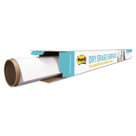 Post-it - Dry Erase Surface with Adhesive Backing, 48 x 36 -  White