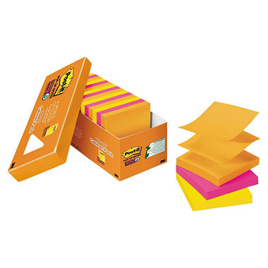 Post-it Pop-up Super Sticky Notes, 3