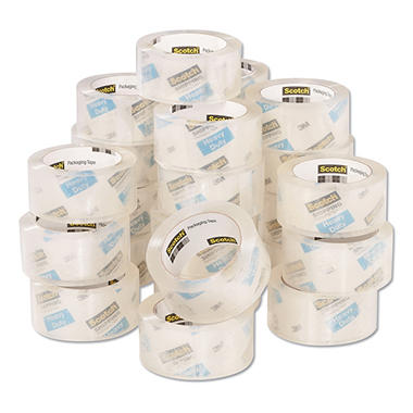 Scotch 3850 Heavy-Duty Shipping Packing Tape Refills, 1.88