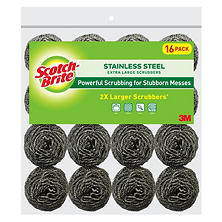 Scotch-Brite Stainless Steel Scrubbers (16 ct.)