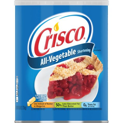 Crisco All-Vegetable Shortening (6 lbs.)