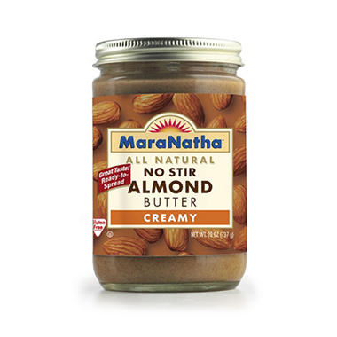 MaraNatha No Stir Almond Butter - 26 oz.