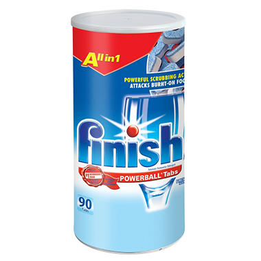 Finish Powerball Dishwashing Tabs - 90 ct.