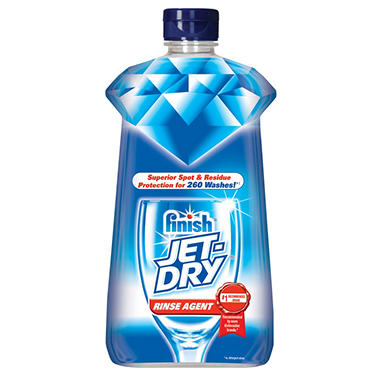 Finish Jet-Dry Rinse Agent - 260 Loads - 27.5 oz.